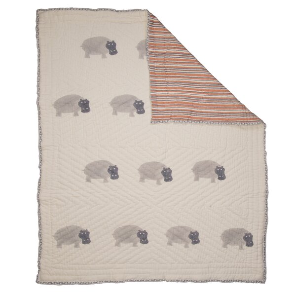 Hippo Quilt by Naaya by Moonlight