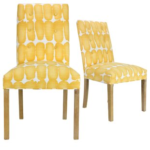 Comparison Lozano Upholstered Dining Chair (Set of 2) By Ivy Bronx
