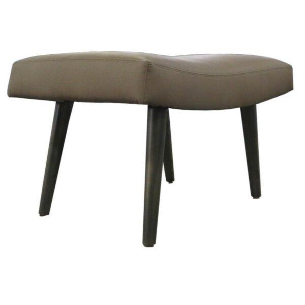 Splayed Leg Ottoman by TLS by Design Custom Furniture