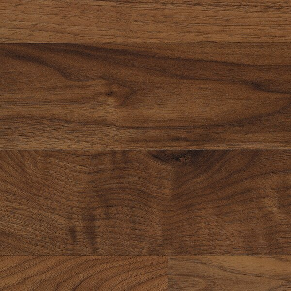 Classic 7.5 x 47.25 x 8mm Walnut Laminate Flooring in Chesapeake Walnut by Quick-Step