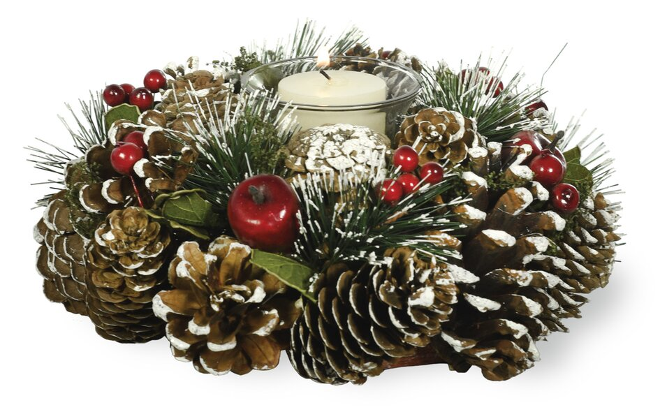Christmas table centerpieces with candles webnuggetz