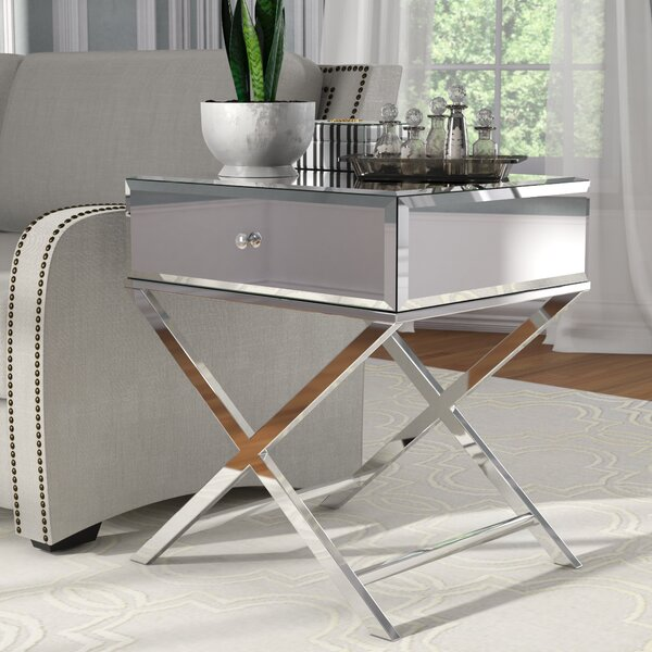 Desidério End Table With Storage By Willa Arlo Interiors by Willa Arlo Interiors New