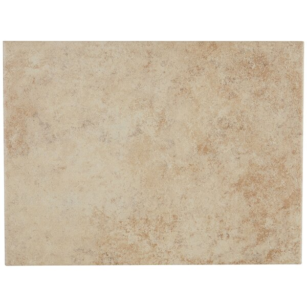 Jacobson 9 x 12 Ceramic Field Tile in Sand by Itona Tile