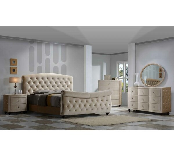 Sweeney Sleigh Configurable Bedroom Set by Rosdorf Park