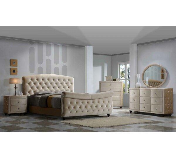 Sweeney Sleigh Configurable Bedroom Set by Rosdorf Park