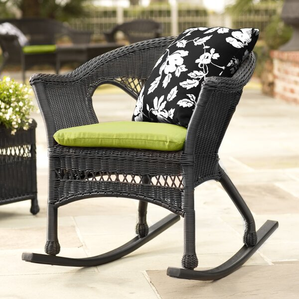 Easy Care Wicker Rocking Chair by Plow & Hearth