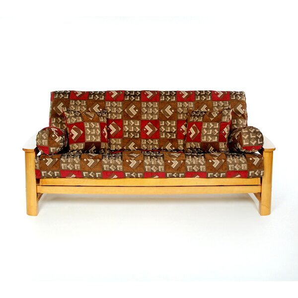 Bingus Box Cushion Futon Slipcover by Lifestyle Covers