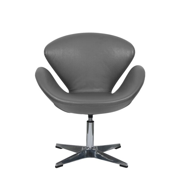 Braddy Swivel Lounge Chair by Orren Ellis