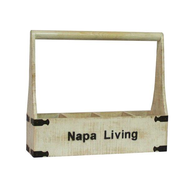 Napa Living 4 Bottle Tabletop Wine Rack by Antique Revival