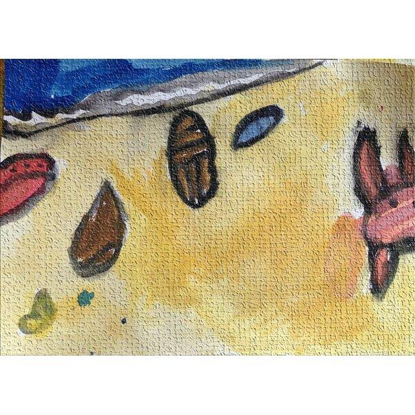 Watercolor Beige Area Rug