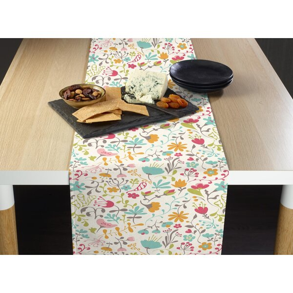 Mikell Blooming Springs Table Runner by August Grove