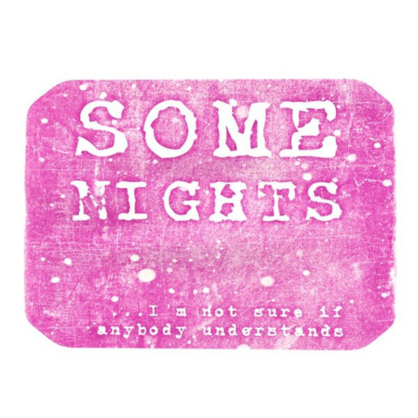 Some Nights Placemat by KESS InHouse
