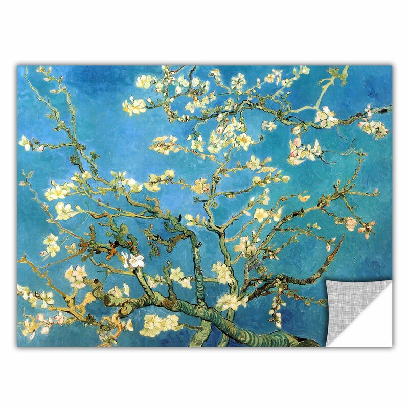 Almond Blossom By Vincent Van Gogh Art Appeelz Removable Wall Mural