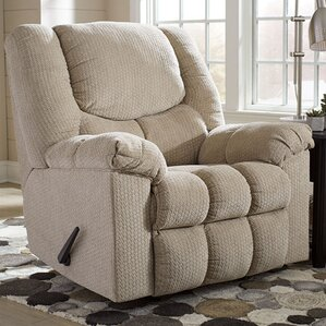 Cybil Manual Rocker Recliner by Red Barrel S..