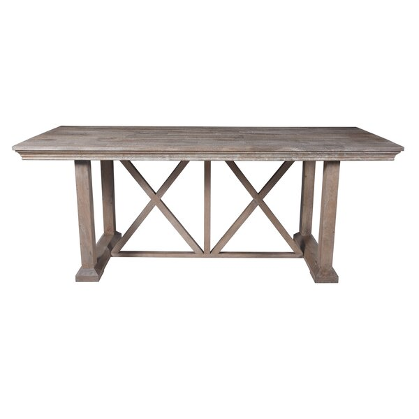 Dawlish Counter Height Solid Wood Dining Table by Foundry Select Foundry Select