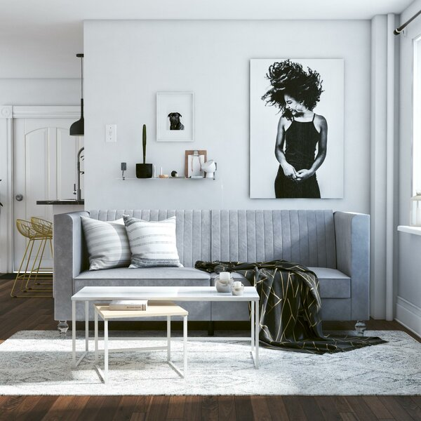 Cool Arabelle Convertible Sofa By Cosmoliving By Cosmopolitan New Complete Home Design Collection Papxelindsey Bellcom