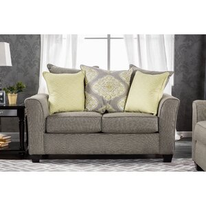 Frankie Contemporary Loveseat by Darby Home Co