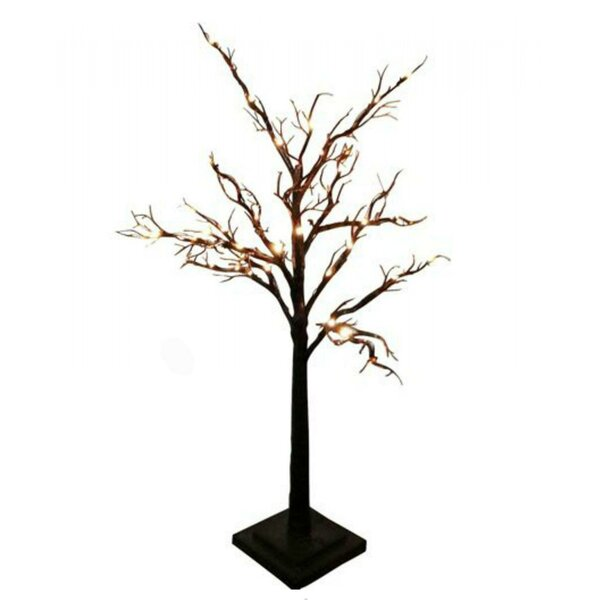 24-Light Tree Light with Bark Effect by Creative Motion