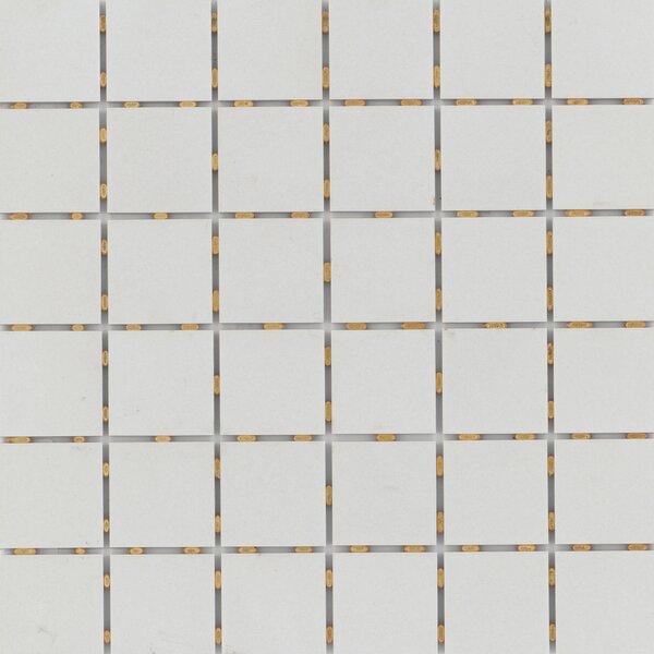 Zone 2 x 2 Porcelain Mosaic Tile in Matte Gray by Emser Tile