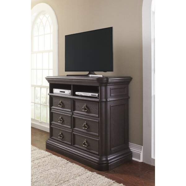 Harlech 6 Drawer Media Chest by Canora Grey