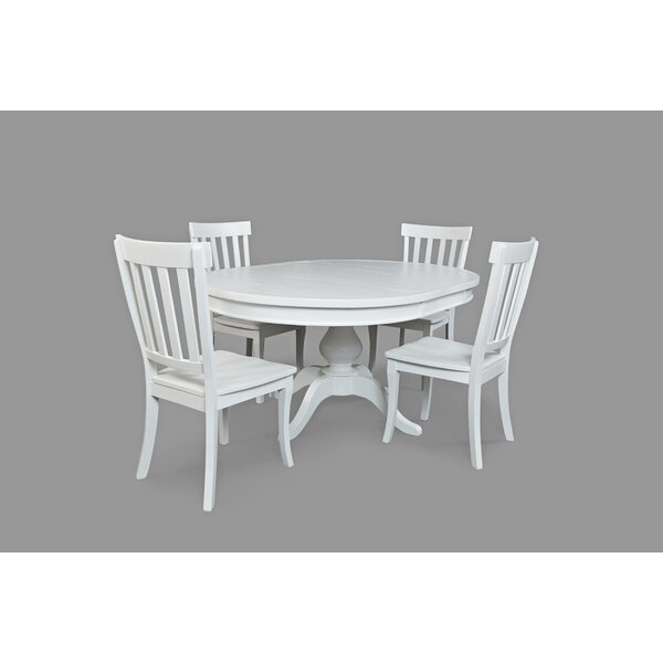 Zeinab 5 Piece Dining Set by Beachcrest Home