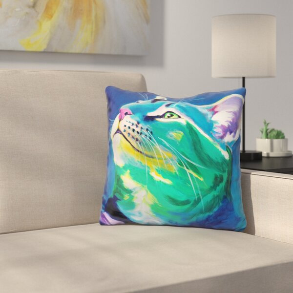 My Piece of Sky Throw Pillow by East Urban Home