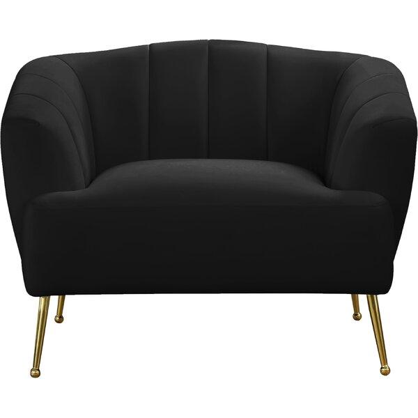 Zareen Arm Chair by Everly Quinn Everly Quinn