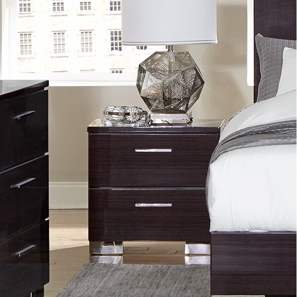 Pearce 2 Drawer Nightstand by Brayden Studio