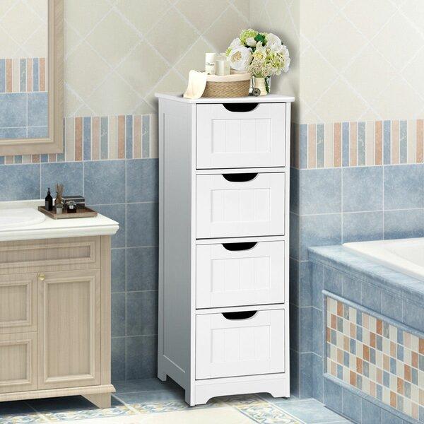 Arnita 12'' W x 32'' H x 12'' D Free-Standing Bathroom Cabinet