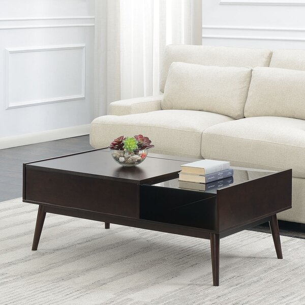 Ibrahim Coffee Table with Storage by Corrigan Studio