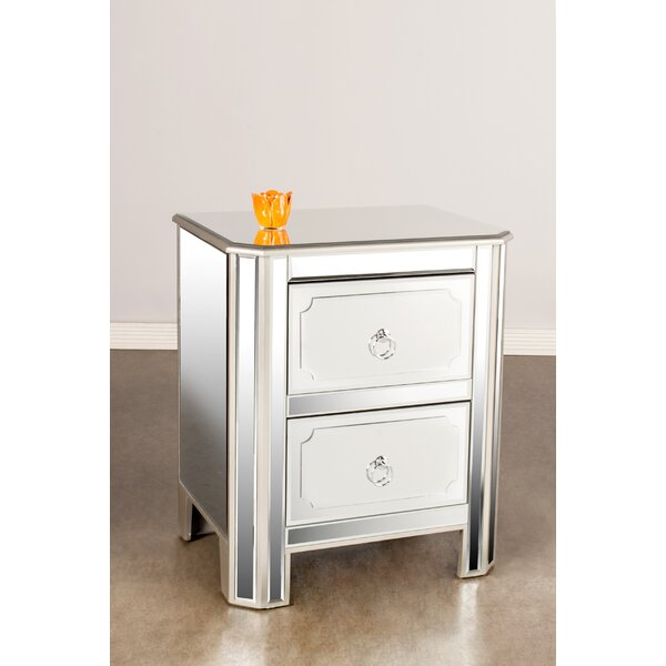 Naomi 2 Drawer Nightstand by Statements by J