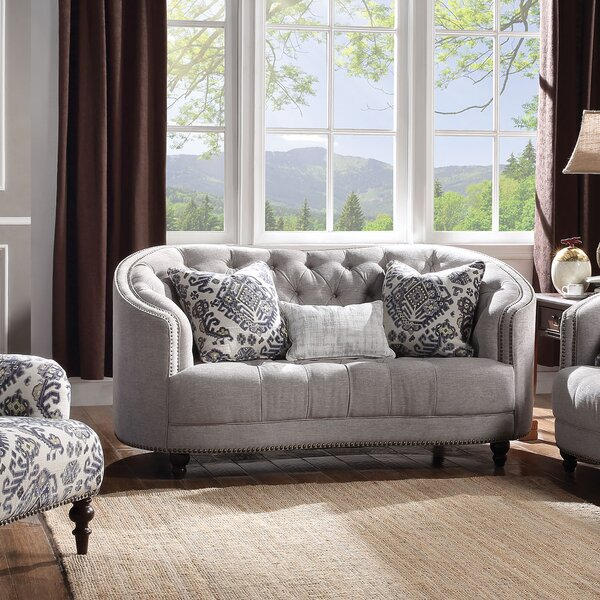 Clarendon Loveseat by World Menagerie