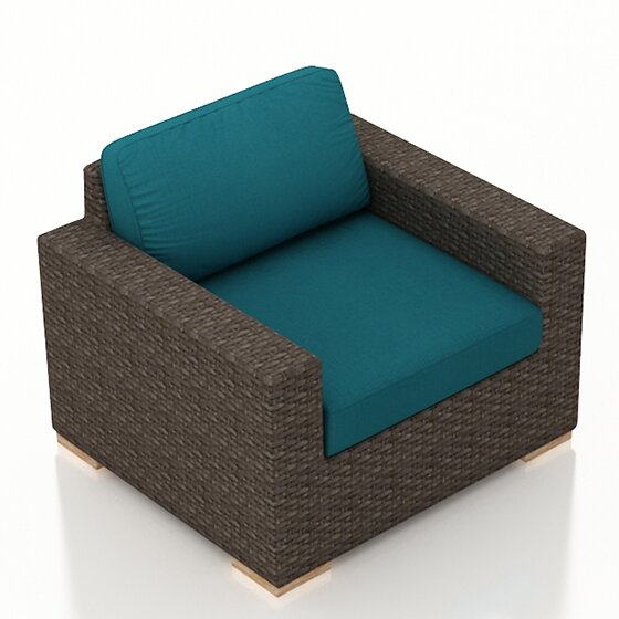 Hodge Club Chair with Cushion by Rosecliff Heights