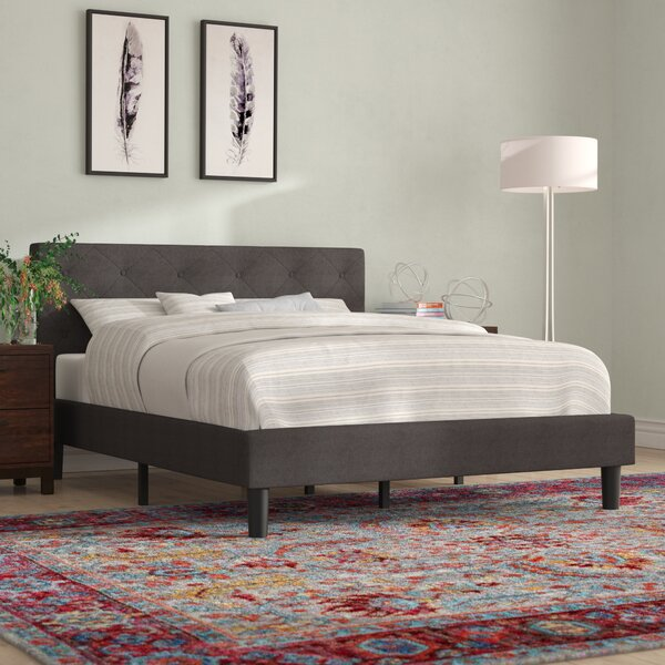 Jolliff Upholstered Platform Bed by Zipcode Design