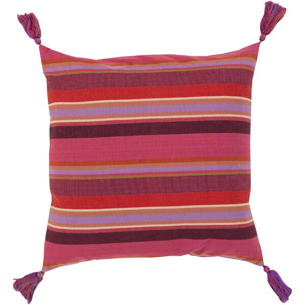 Cherree Cotton Throw Pillow by World Menagerie