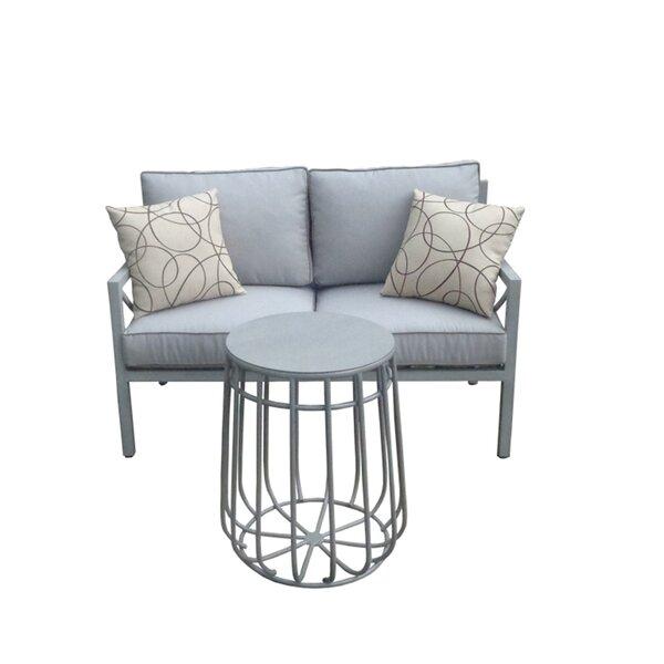 Wrigley 2 Piece Sofa Seating Group with Cushions by Brayden Studio Brayden Studio
