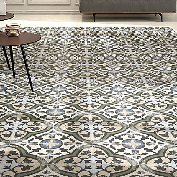 Conceptum 9.75 x 9.75 Porcelain Field Tile in Cart