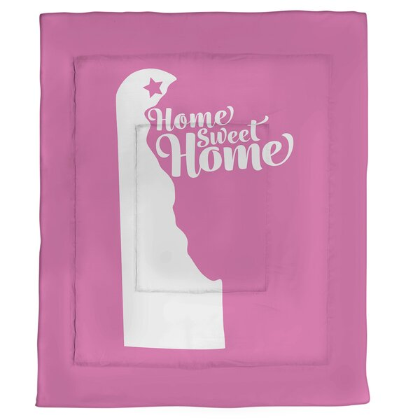 Wilmington Home Sweet Single Reversible Comforter