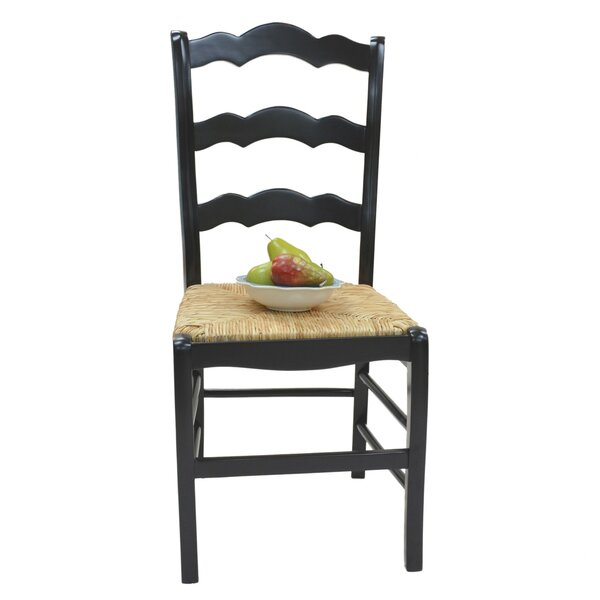 Vienna Ladder Back Solid Wood Dining Chair by Carolina Cottage
