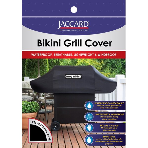 BBQ Bikini Grill Cover - Fits up to 60 by Jaccard