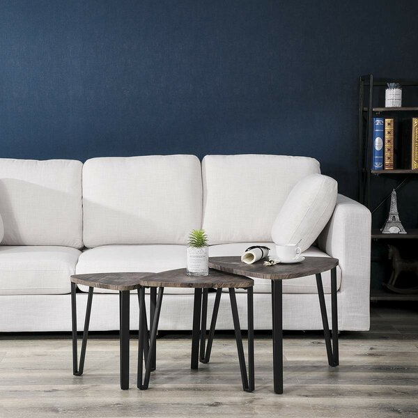 Nyasia 3 Piece Coffee Table Set By Wrought Studio