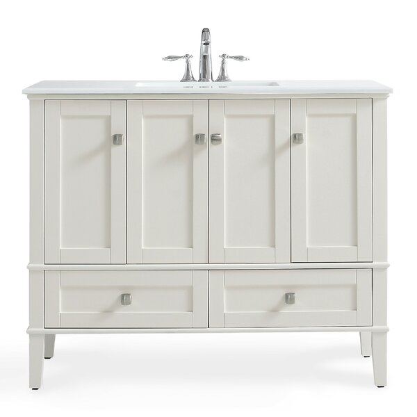 Chelsea 43 Single Bathroom Vanity Set by Simpli Home