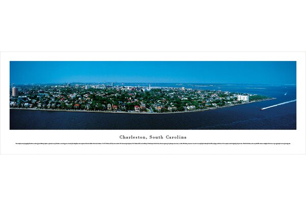 US Skyline Charleston, South Carolina by James Blakeway Photographic Print by Blakeway Worldwide Panoramas, Inc