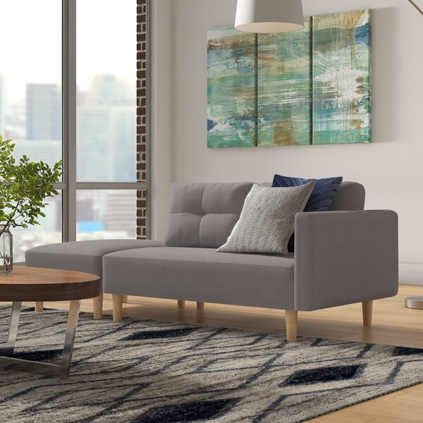 Dierks Modern Sofa by Wrought Studio