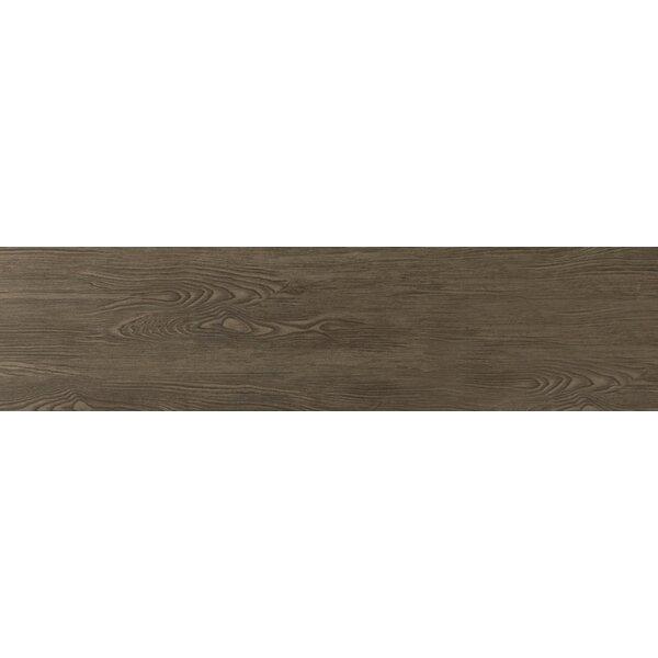 Alpine 6 x 36 Porcelain Wood-Look Plank Tile in Espresso by Emser Tile