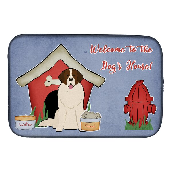 Dog House Moscow Watchdog Dish Drying Mat by Caroline's Treasures