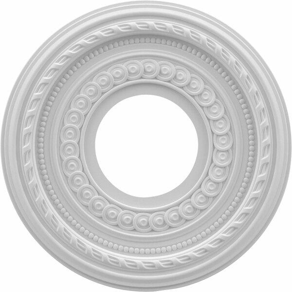 Cole 0.75H x 10W x 10D Ceiling Medallion by Ekena Millwork