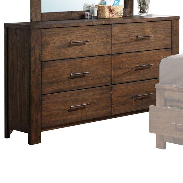 Schlesinger 6 Drawer Double Dresser by Latitude Run
