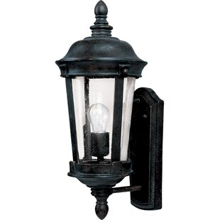 Online Reviews Arsenault 1-Light Outdoor Sconce By Darby Home Co