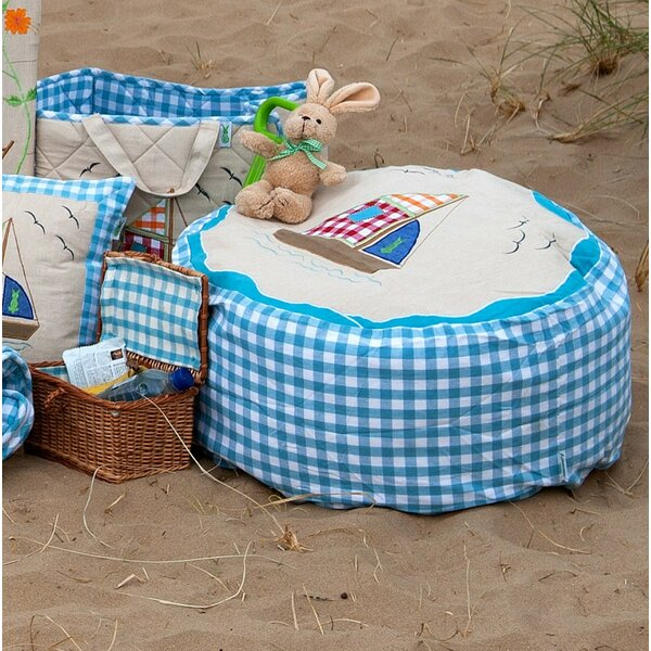 Beach House Bean Bag Chair by Win Green
